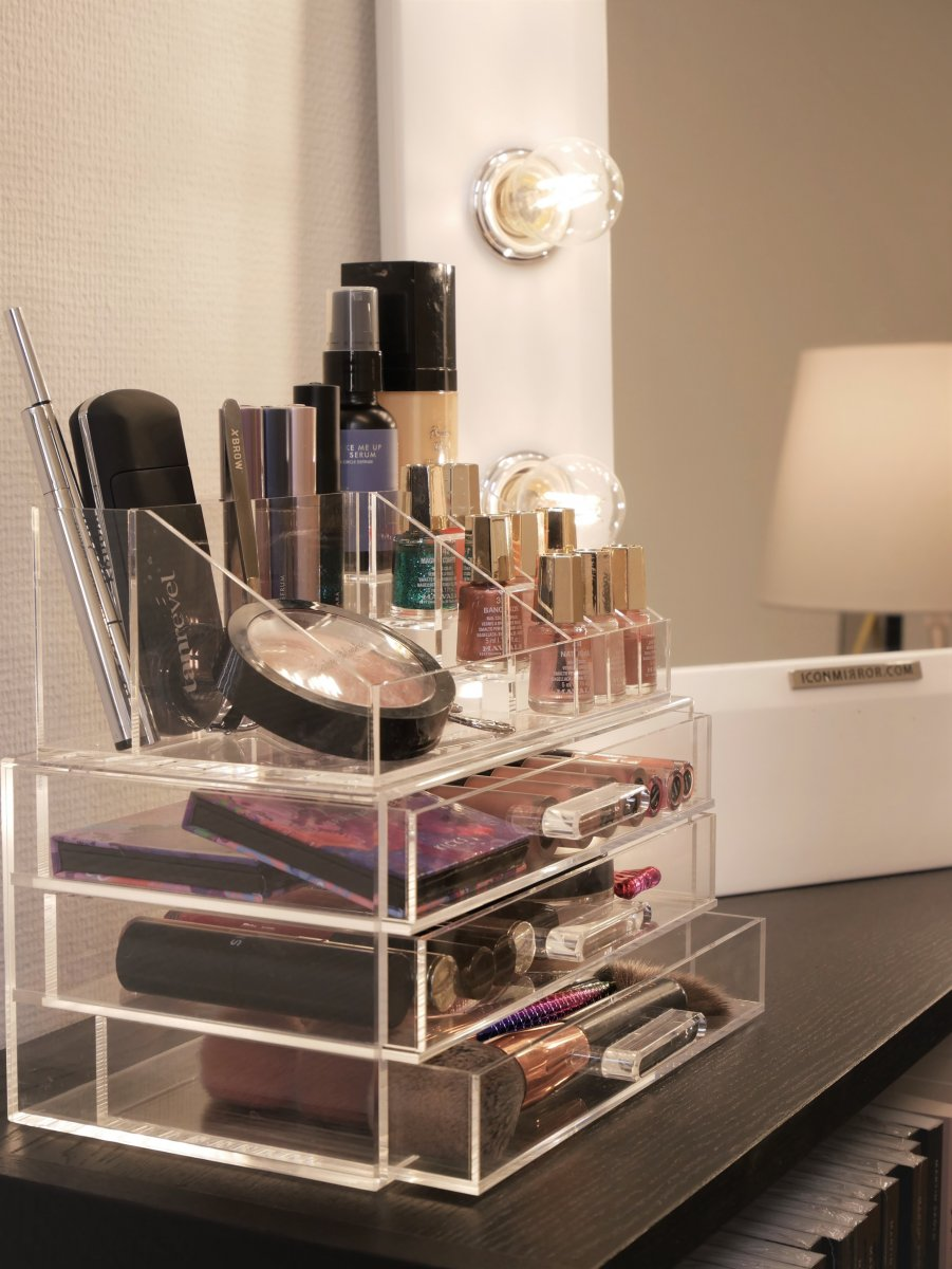 makeup organizer - stack
